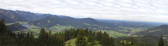 Blick in Richtung Nordwest