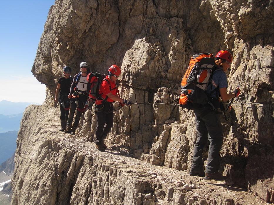 Klettersteig Rucksack : Definition klettersteiggehen via ferrata alpenverein münchen