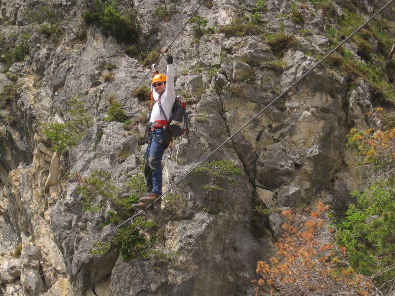 Klettersteigset Unterschiedlich Lang : Definition klettersteiggehen via ferrata alpenverein münchen