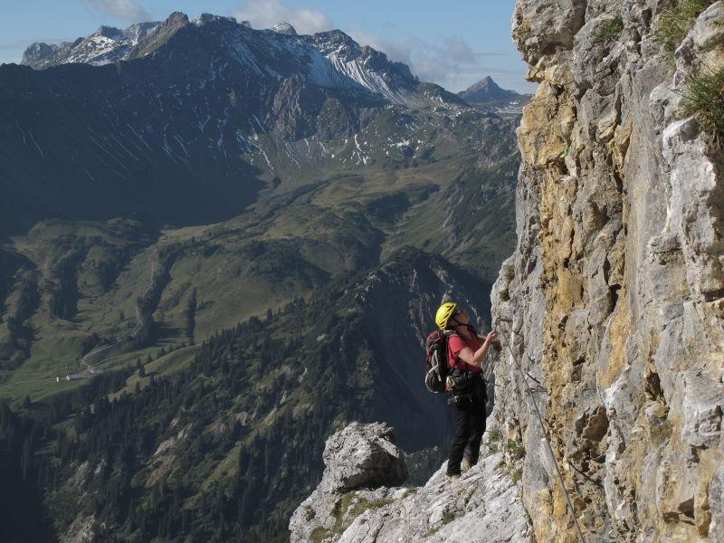 Klettersteig Italien : Definition klettersteiggehen via ferrata alpenverein münchen