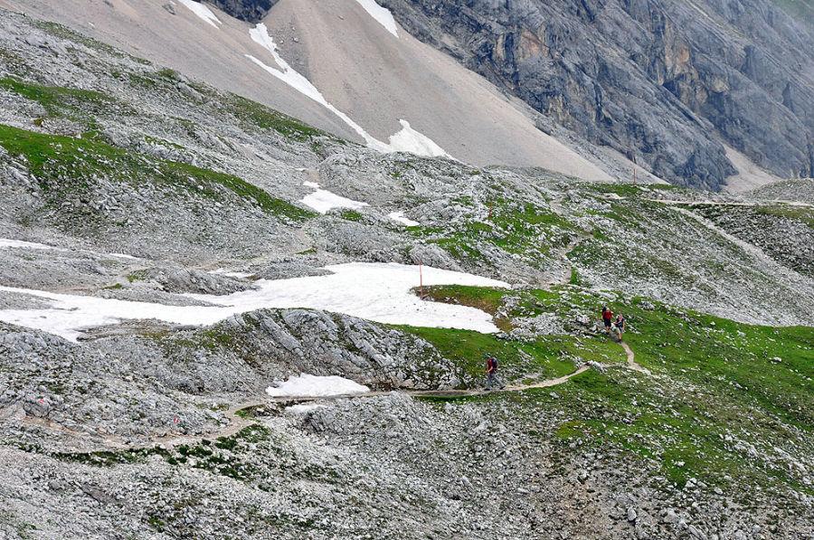 Reintalangerhutte Zugspitze Wetterstein Alpenverein Munchen Oberland