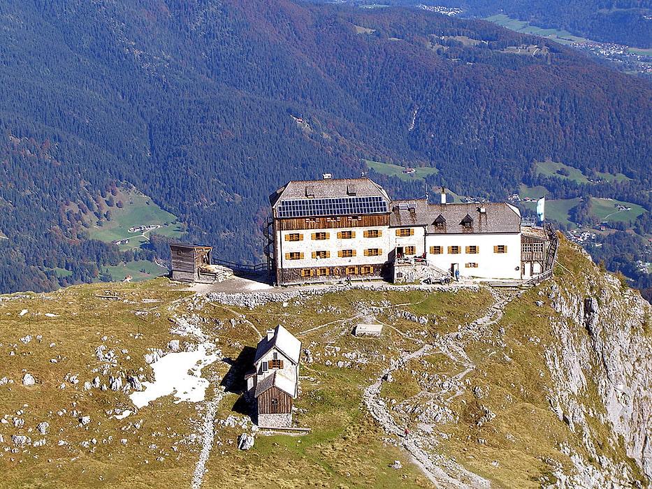 Klettersteigset Verleih Berchtesgaden : Watzmannhaus watzmann übernachten alpenverein münchen oberland hütte