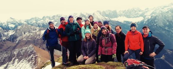 IMG group picture at Schafreuter.