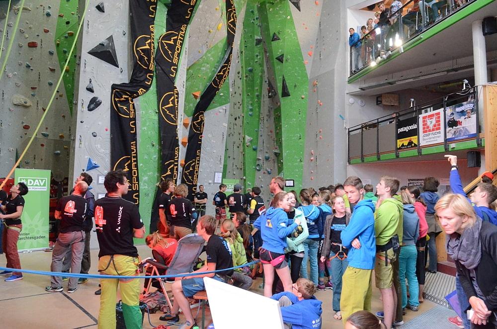 Klettersteigset Verleih Berchtesgaden : Wettkampfwochenende berchtesgaden alpenverein münchen & oberland