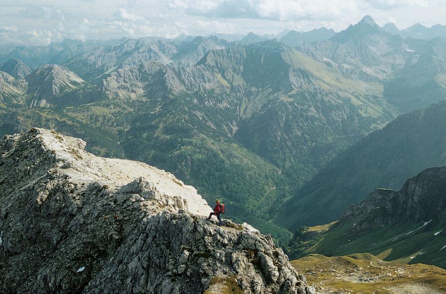 Klettersteig Untersberg : Klettersteige tourentipps alpinwelt alpenverein münchen oberland