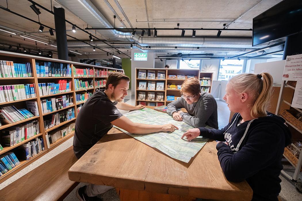 Klettersteigset Dav Leihen : Beratung servicestellen verleih münchen oberland ausrüstung
