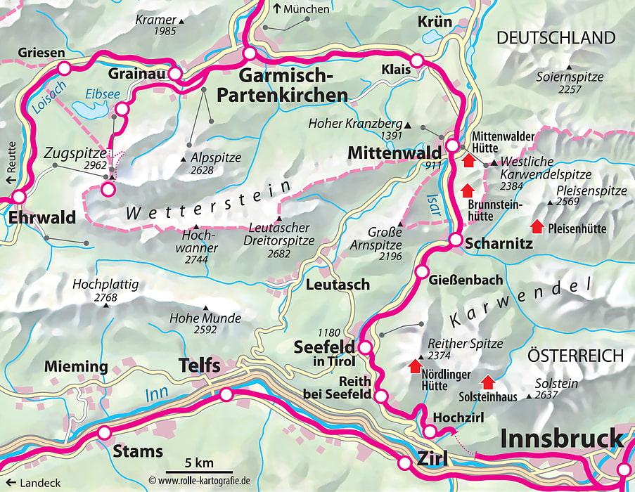 Mit Der Bahn Nach Mittenwald Scharnitz Seefeld