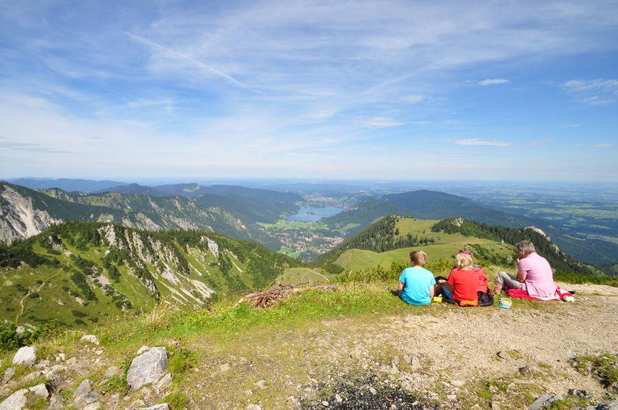 Drei Seen Tour Albert Link Hütte Schönfeldhütte Trekking