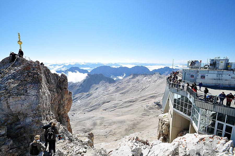 Zugspitze Klettersteigset Leihen : Münchner haus zugspitze Übernachten wetterstein alpenverein