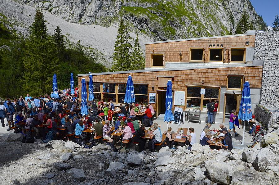 Klettersteigset Leihen Garmisch : Höllentalangerhütte zugspitze klettersteig wetterstein alpenverein